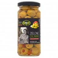 Smak Zielone oliwki z pastą paprykową 220 g