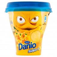Danone Danio Shake It Napój jogurtowy o smaku waniliowym 240 g