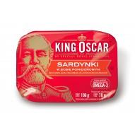 Sardynki w sosie pomidorowym 106 g King Oscar