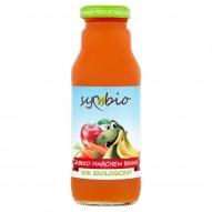 Symbio Sok ekologiczny jabłko marchew banan 300 ml