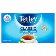 Tetley Classic Herbata czarna 40 g (25 x 1,6 g)