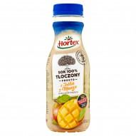 Hortex Sok 100% tłoczony prosto z jabłek z mango 300 ml