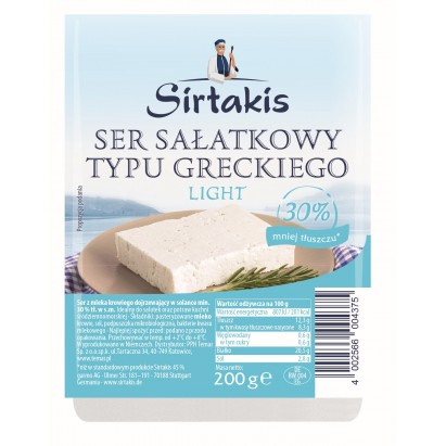 Temar sirtakis ser do sałatek light 200g