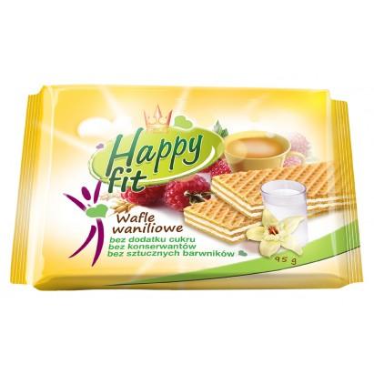 Flis Wafle waniliowe bez cukru fit 95g