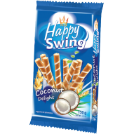 Flis Rurki Happy Swing kokosowe 150g