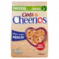 Nestlé Cheerios Oats Chrupiące płatki śniadaniowe 210 g