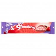 Milka Czekolada mleczna Strawberry 36,5 g
