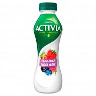 Danone Activia Jogurt truskawka owoce leśne 300 g