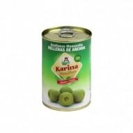 Oliwki zielone z anchois 300ml Puszka Karina