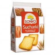 SONKO Tosty Sucharki bez dodatku soli 225g.