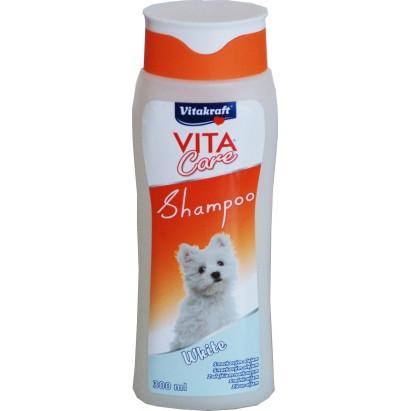 Szampon dla psów z białą sierścią 300ml Vitakraft