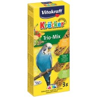 Kracker trio mix papuga 90g Vitakraft