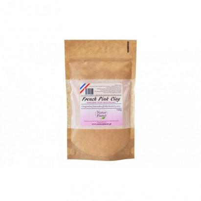 Glinka kosmetyczna różowa Natur Planet 100g