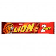Lion Nadziewany wafel z karmelem i płatkami pszennymi w polewie kakaowej 60 g (2 x 30 g)