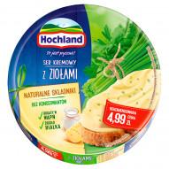 Hochland Ser kremowy w trójkącikach z ziołami 200 g