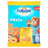Lubisie ABeCe Ciasteczka o smaku waniliowym z kawałkami białej czekolady 25 g