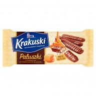 Krakuski Paluszki z karmelem w czekoladzie mlecznej 130 g