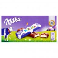 Milka Milkinis Batoniki z czekolady mlecznej 87,5 g (8 sztuk)