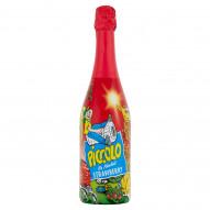 Piccolo Napój bezalkoholowy gazowany o smaku truskawkowym 750 ml