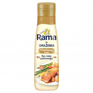 Rama Tłuszcz roślinny do smażenia maślany smak 500 ml