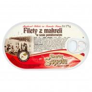 Skarby Sopotu Filety z makreli w sosie pomidorowym 175 g