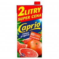 Caprio różowy grejpfrut Napój 2 l