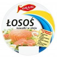 GRAAL Łosoś kawałki w oleju 150 g
