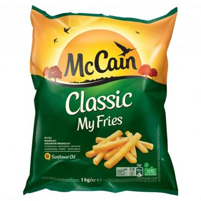 McCain My Fries Classic Frytki do smażenia 1 kg