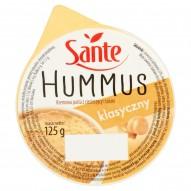 Sante Hummus klasyczny Kremowa pasta z ciecierzycy i tahini 125 g