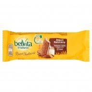 belVita Śniadanie Pyszne Nadzienie Jogurt naturalny Kakaowe ciastka z pełnego ziarna 50,6 g