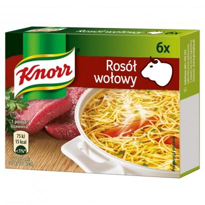 Knorr Rosół wołowy 60 g (6 kostek)