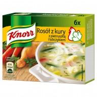 Knorr Rosół z kury z pietruszką i lubczykiem 60 g (6 kostek)