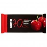 Terravita Czekolada nadziewana wiśniowa 100 g