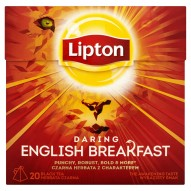 Lipton Daring English Breakfast Herbata czarna 36 g (20 torebek)