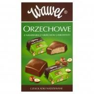 Wawel Orzechowe z nadzieniem z orzechów laskowych Czekoladki nadziewane 2,4 kg