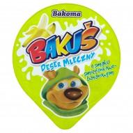 Bakoma Bakuś Deser mleczny o smaku śmietankowo-bananowym 100 g