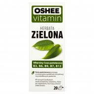 Oshee Vitamin Herbata zielona 40 g (20 torebek)