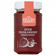 Owocowa Rozkosz Dżem truskawkowy niskosłodzony 250 g