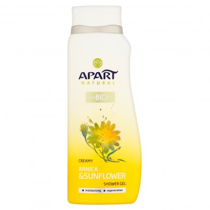 Apart Natural Arnica & Sunflower Żel pod prysznic 400 ml