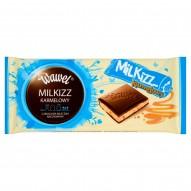 Wawel Milkizz karmelowy Czekolada mleczna nadziewana 100 g
