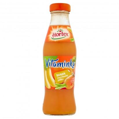 Hortex Vitaminka Banan marchewka jabłko Sok 250 ml