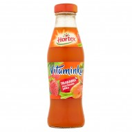 Hortex Vitaminka Truskawka marchewka jabłko Sok 250 ml