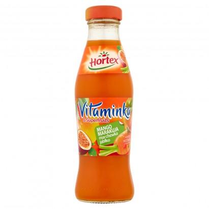 Hortex Vitaminka & Superfruits Mango marakuja marchewka jabłko Sok 250 ml