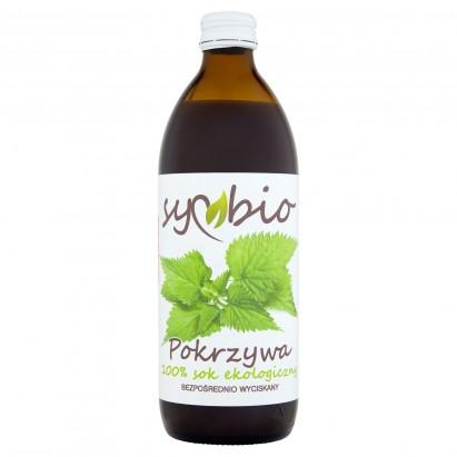 Symbio Pokrzywa 100% sok ekologiczny 500 ml