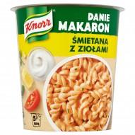 Knorr Danie Makaron Śmietana z ziołami 67 g