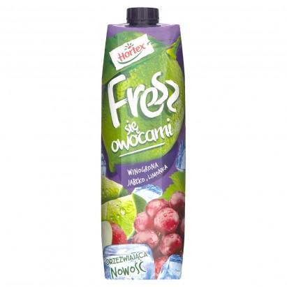 Hortex Fresz się owocami Winogrona jabłko limonka Napój 1 l