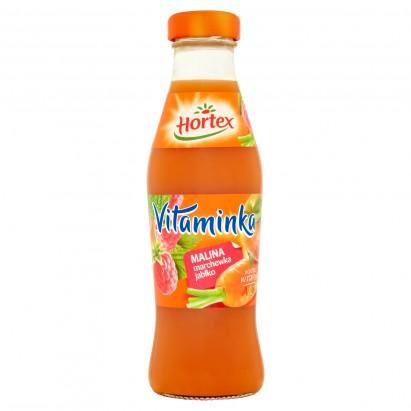 Hortex Vitaminka Malina marchewka jabłko Sok 250 ml