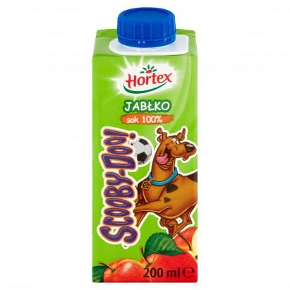 Hortex Scooby-Doo! Jabłko Sok 100% 200 ml