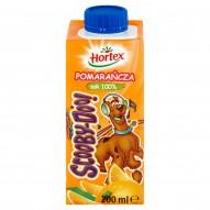 Hortex Scooby-Doo! Pomarańcza Sok 100% 200 ml