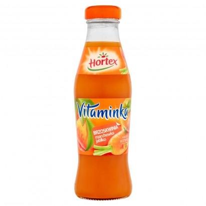 Hortex Vitaminka Brzoskwinia marchewka jabłko Sok 250 ml